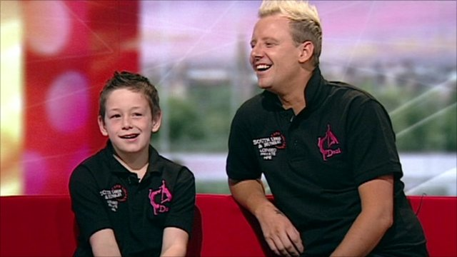 Boy Cheerleader talks to BBC Breakfast