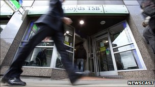Lloyds shopfront