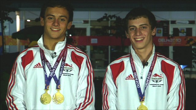 Tom Daley & Max Brick