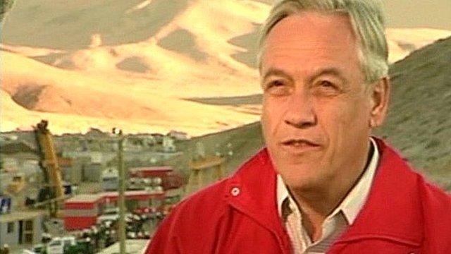 Chile's President Sebastian Pinera