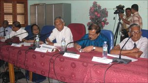 Sri Lanka presidential panel conducting its hearings in Batticaloa during the weekend