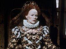 Glenda Jackson as Queen Elizabeth I in BBC drama Elizabeth R
