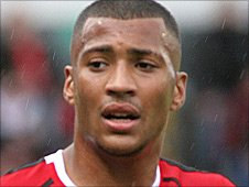 Walsall midfielder David Davis
