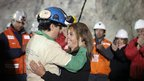 Raul Bustos becomes the 30th miner to be rescued