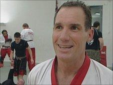 Mike 'mad dog' McGarry, the world Ju Jitsu champion
