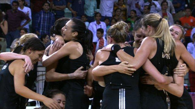 New Zealand win netball gold