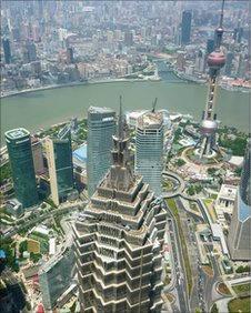Pudong from the air