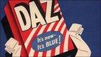 1950s advert for Daz