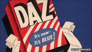 1950s advert for Daz