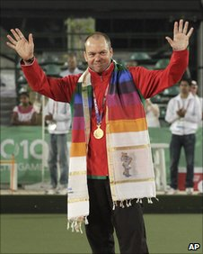 Robert Weale won Commonwealth silver at the 2006 Melbourne Games