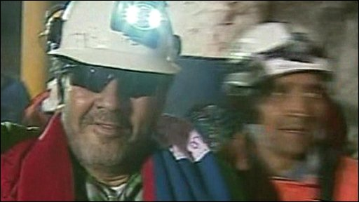 Luis Urzua, the last miner to be rescued