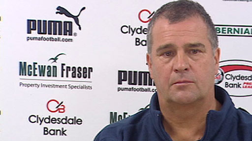 Caretaker manager Alastair Stevenson