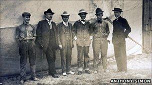 The crew of the America