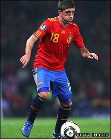 Spain and Valencia winger Pablo Hernandez