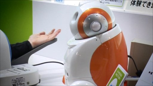 Health robot at Ceatec