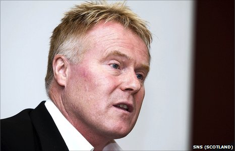 Former Dundee chief executive Dave MacKinnon