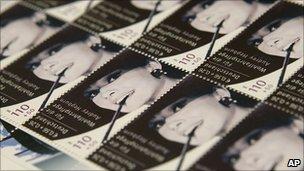 Rare Hepburn stamps up for sale
