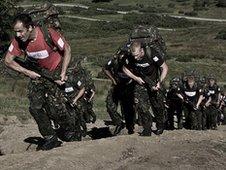 Training at Catterick Garrison
