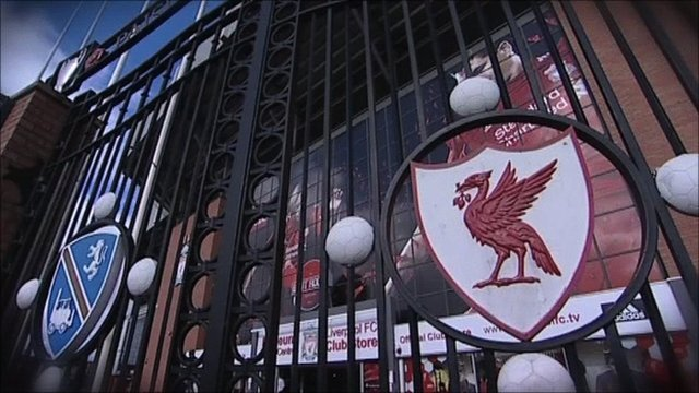 The gates at Anfield