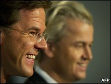 Dutch party leaders