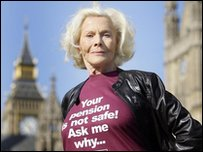 Honor Blackman campaigns