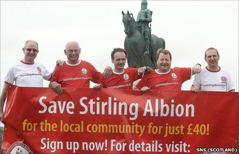 Stirling Albion fans campaigned successfully to take over the running of their club