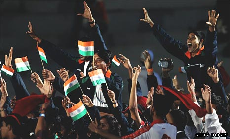 India's athletes rejoice at the end of the Games