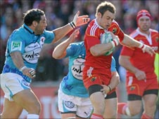 Thomond Park action