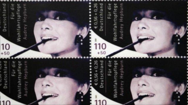 Audrey Hepburn stamps