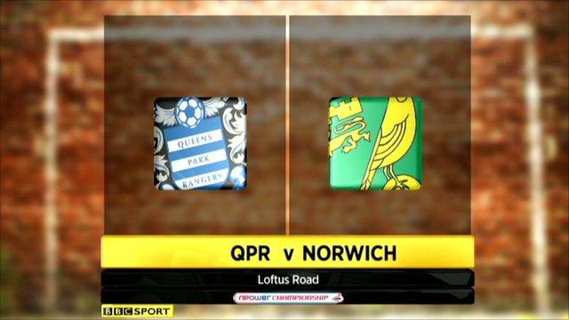 QPR 0-0 Norwich