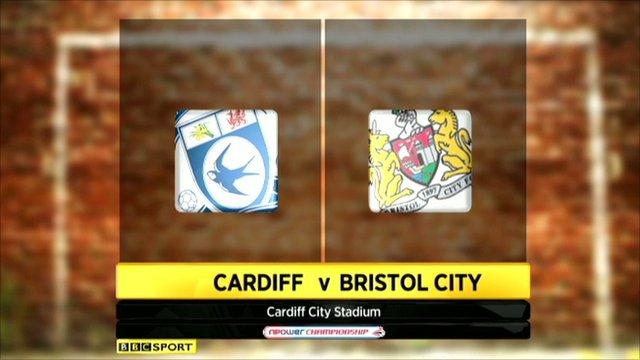Cardiff 3-2 Bristol City