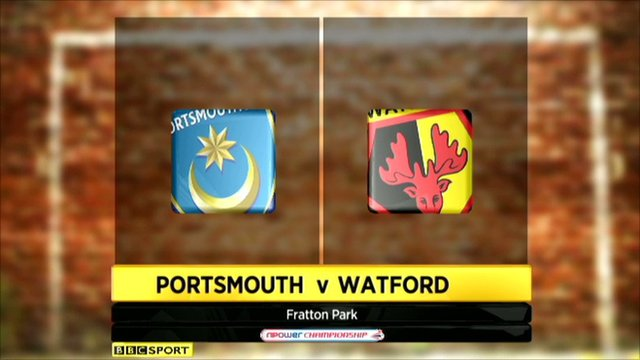 Portsmouth 3-2 Watford