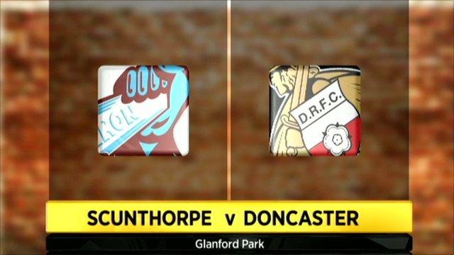 Scunthorpe 1-3 Doncaster