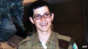 Gilad Shalit (undated file image)
