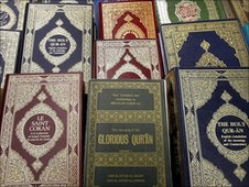 Copies of the Holy Quran