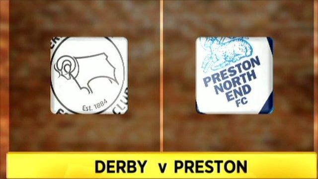 Derby v Preston