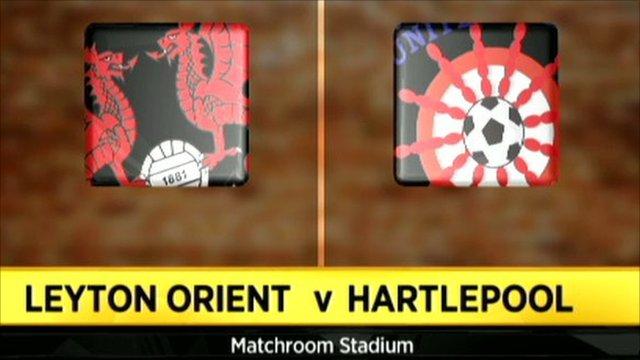 Leyton Orient 1-0 Hartlepool