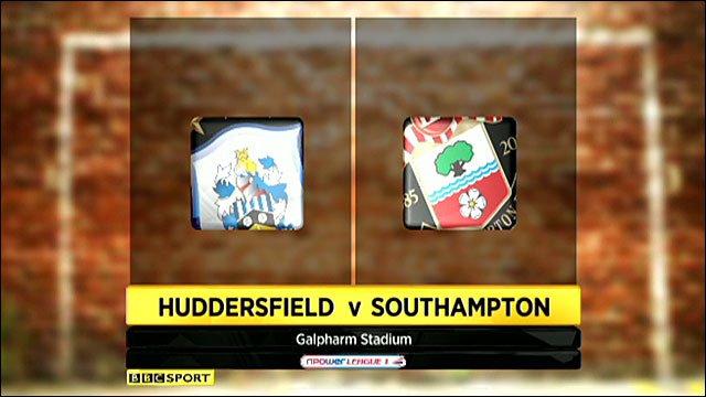 Huddersfield 2-0 Southampton