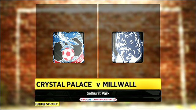 Crystal Palace 0-1 Millwall