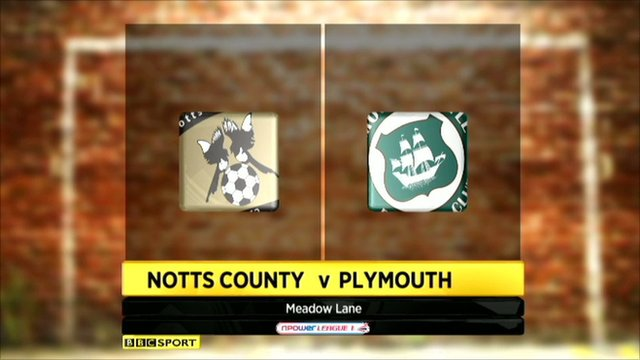 Notts County 2-0 Plymouth