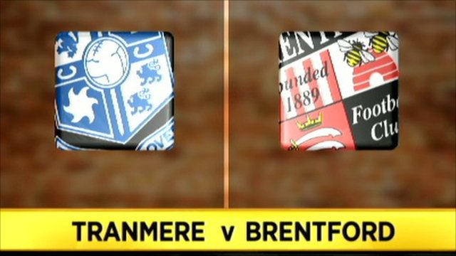 Tranmere 0-3 Brentford