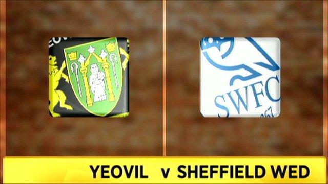 Yeovil v Sheff Wed