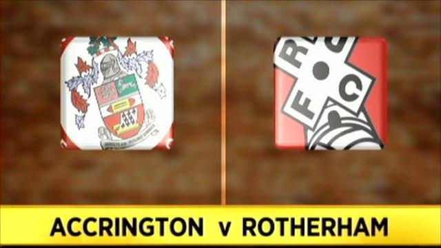 Accrington 2-3 Rotherham