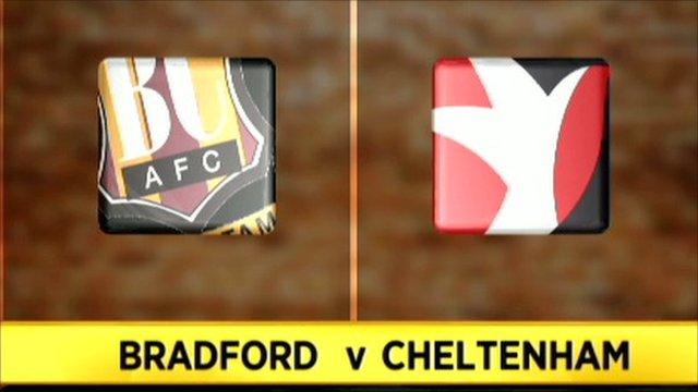 Bradford v Cheltenham