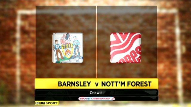 Barnsley   3 - 1   Nott'm Forest