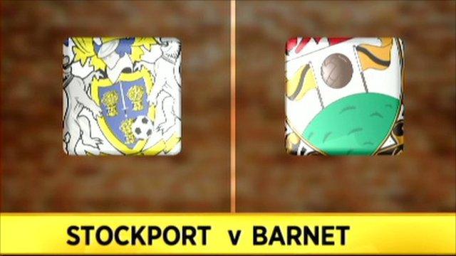 Stockport v Barnet