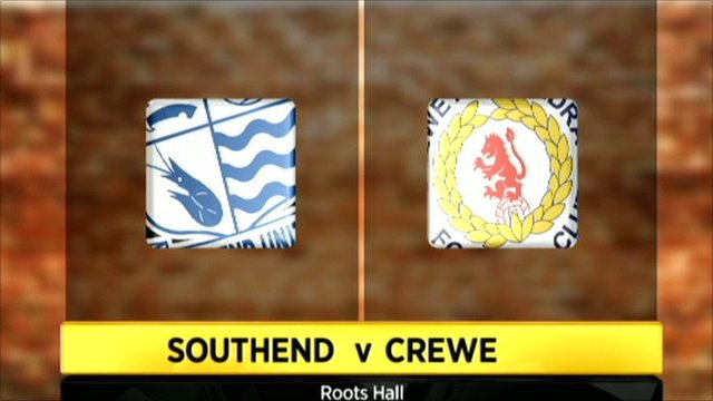 Southend 0-2 Crewe