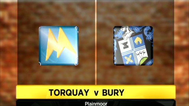Torquay v Bury