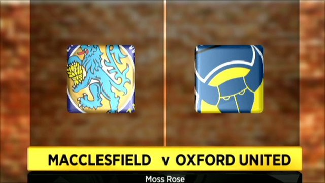Macclesfield 3-2 Oxford Utd