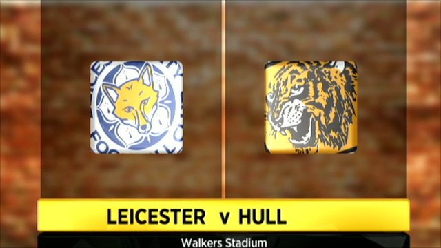 Leicester 1-1 Hull